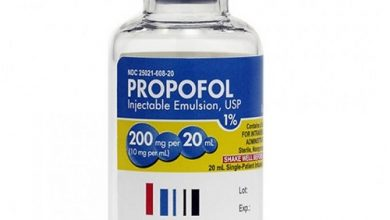 سعر ودواعى إستعمال دواء بروبوفول propofol حقن مخدر عام