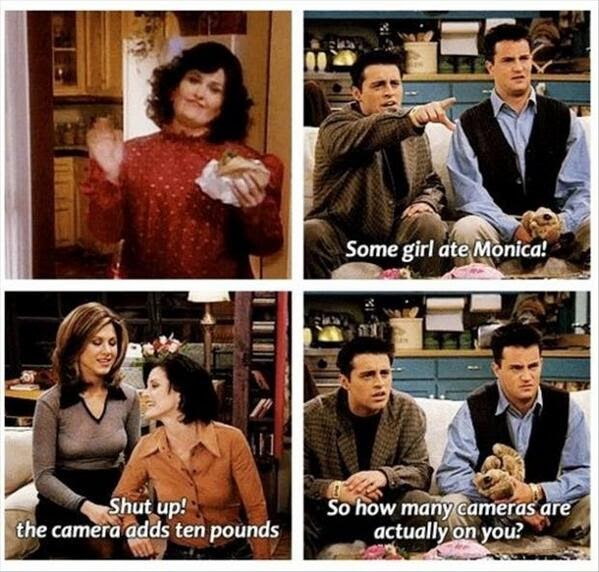 35 Funny Quotes From Joey Tribbiani On Friends | Diva Likes
