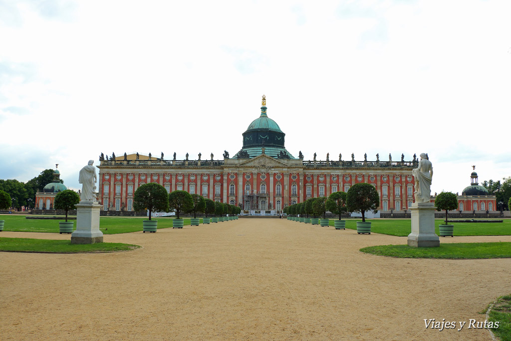 Neues Palais, Sanssouci, Postdam