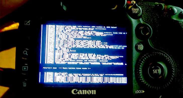 How to Run Linux Kernel on Canon DSLRs Cameras