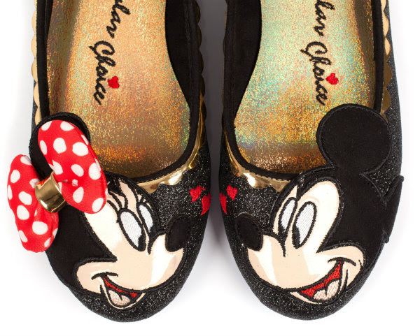 irregular choice disney mickey minnie limited edition shoes