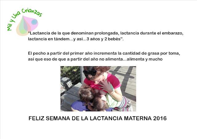 Semana de la Lactancia Materna 2016 4ª parte