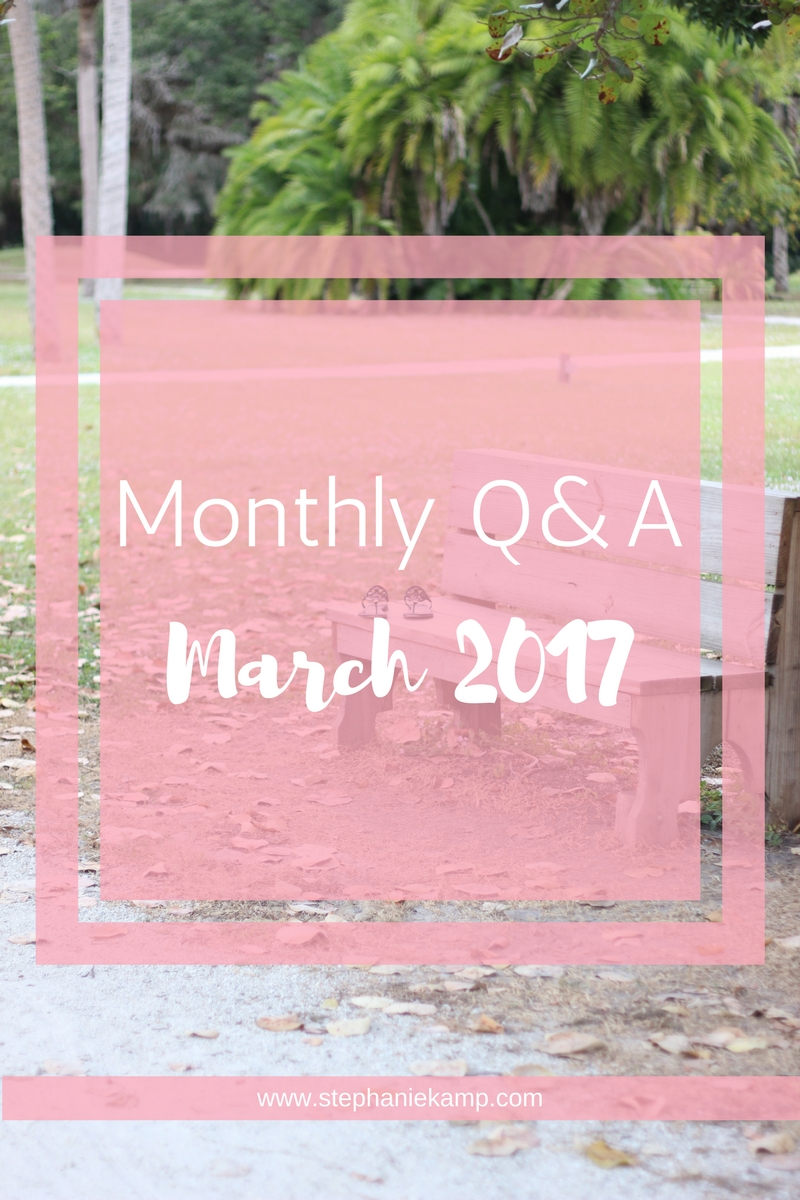 March 2017 Q&A