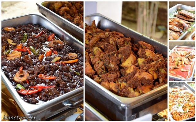 Some of the dishes from the buffet spread that uses Mahsuri's soy sauce