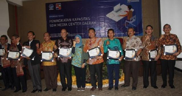 Diskominfo Indramayu Raih Juara Pengelolaan Media Centre Terbaik Di Jawa Barat