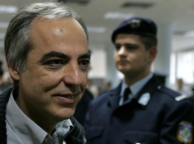 Bγαίνει από τη φυλακή με άδεια για πρώτη φορά ο Δημήτρης Κουφοντίνας