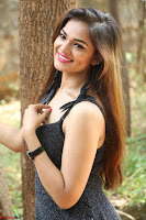 Aswini in lovely Deep Neck Sleeveless Black Dress Spicy Pics ~  Exclusive 50.JPG