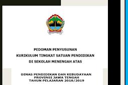 Panduan Penyusunan KTSP SMA Tahun 2018/2019