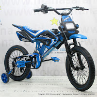 16 Inch Atlantis 105 Motocross Kids Bike