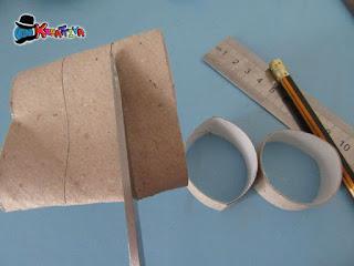 crea anelli di cartone