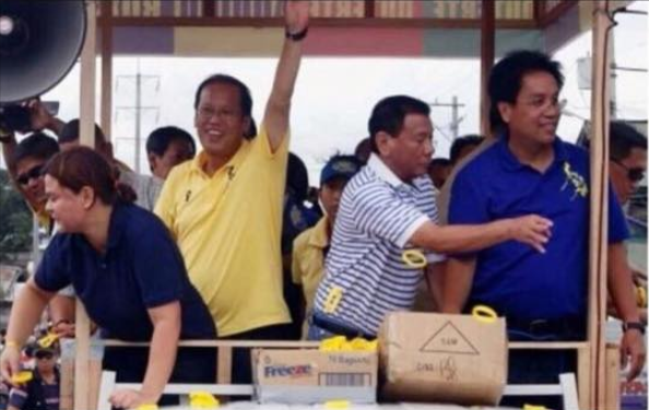 Mayor Inday Sara Duterte clarifies viral photo with Mar Roxas and Noynoy Aquino