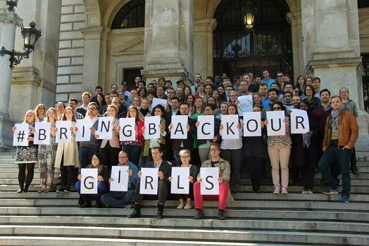 bring back our girls european students