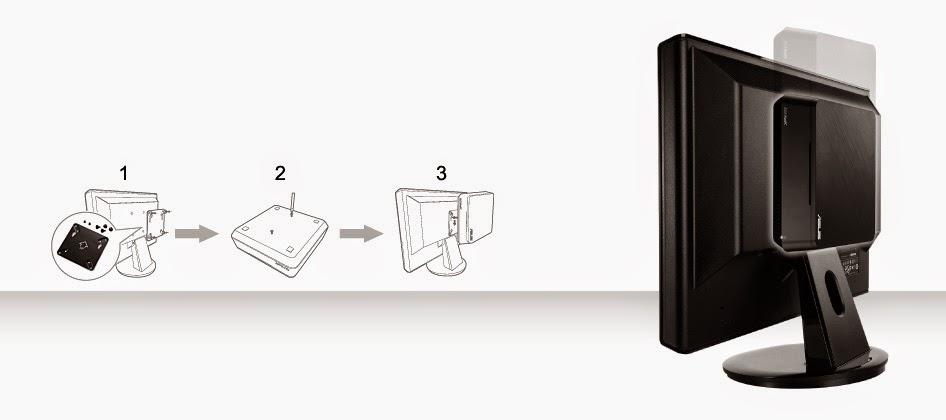 VIVO PC Mini PC Besutan Asus
