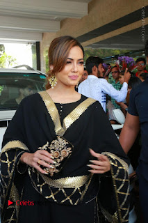 Bollywood Actress Sana Khan Launches Aakrithi Exibition  0054.JPG