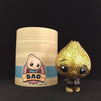 Bao Little Sparkle Edition Vinyl Figure by Scott Tolleson x Pobber