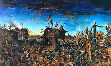 Texas War of Independence and the Alamo