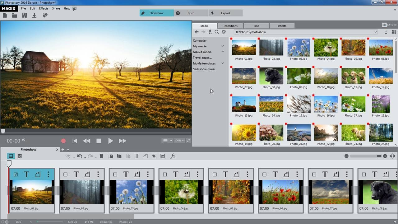 MAGIX Photostory 2021 Deluxe 20.0.1.56 With Crack Free Download