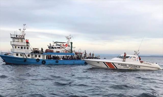 القاء القبض على سوريين أثناء تسللهم إلى اليونان