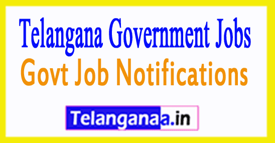 Telangana Government Jobs Notifications