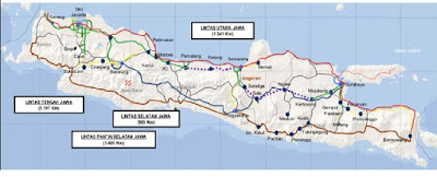 Peta Tol Trans Jawa