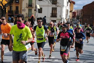 Fotos Media Maraton de Leon 2018