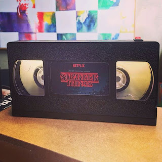 stranger things vhs tape lamp smart lamb shop etsy