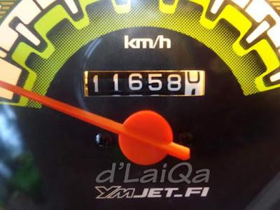 odometer saat ganti oli mesin sebelumnya