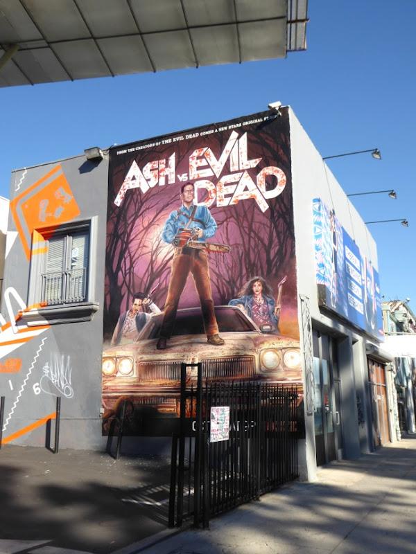 Ash vs Evil Dead wall mural