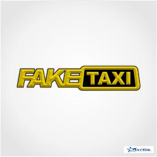 Fake Taxi Logo Vector cdr
