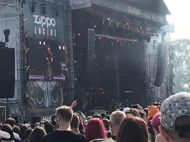 Babymetal at Download UK 2018
