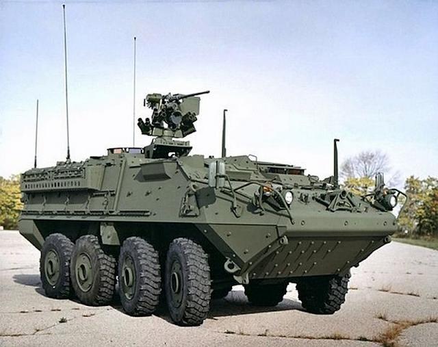 Resultado de imagen para Stryker: el letal blindado para las tropas de EEUU en Europa