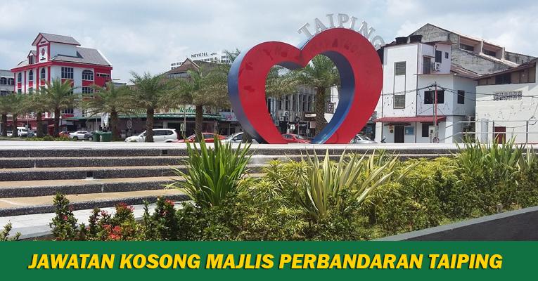 Jawatan Kosong di Majlis Perbandaran Taiping MPT
