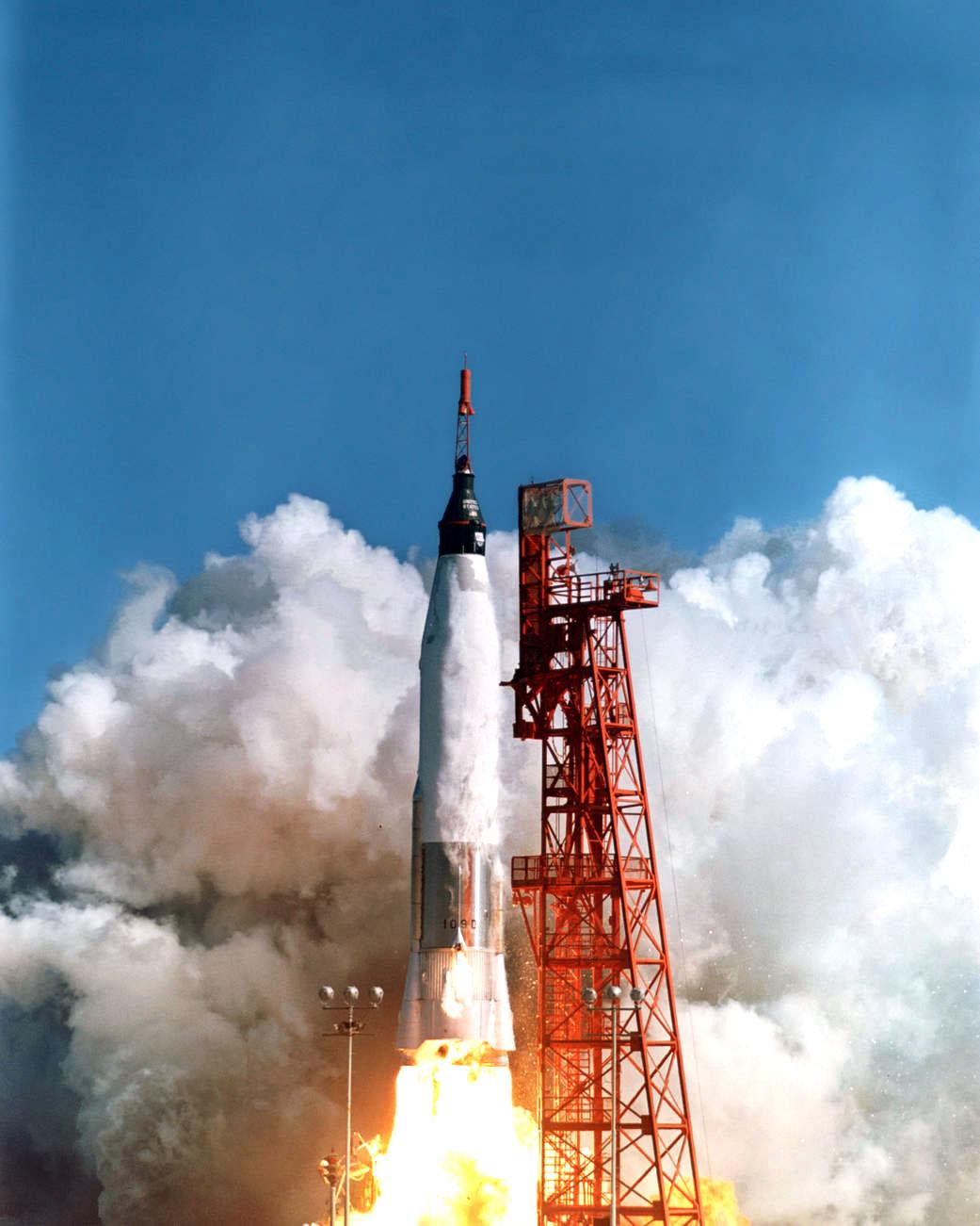 friendship 7 spacecraft take off - photo #4