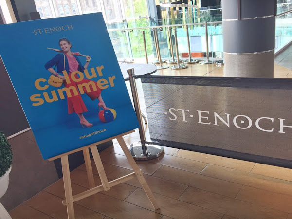 Colour Your Summer with St Enoch Centre
