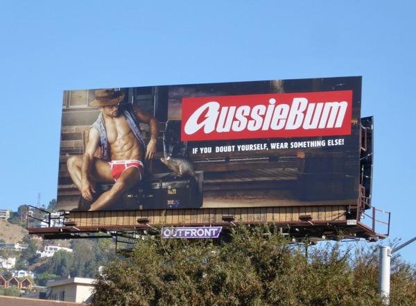 AussieBum underwear 2017 billboard West Hollywood