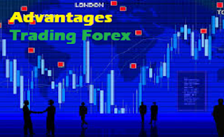 advantages trading forex online