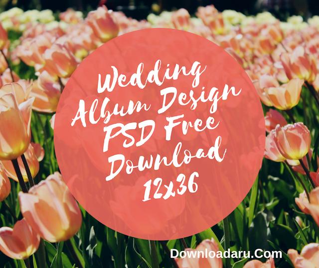 Wedding Album Design PSD Free Download 12x36 | 2018 Collection