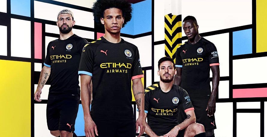 wholesale dealer ad727 dd5f3 Manchester City 19-20 Away Kit Released - Footy Headlines
