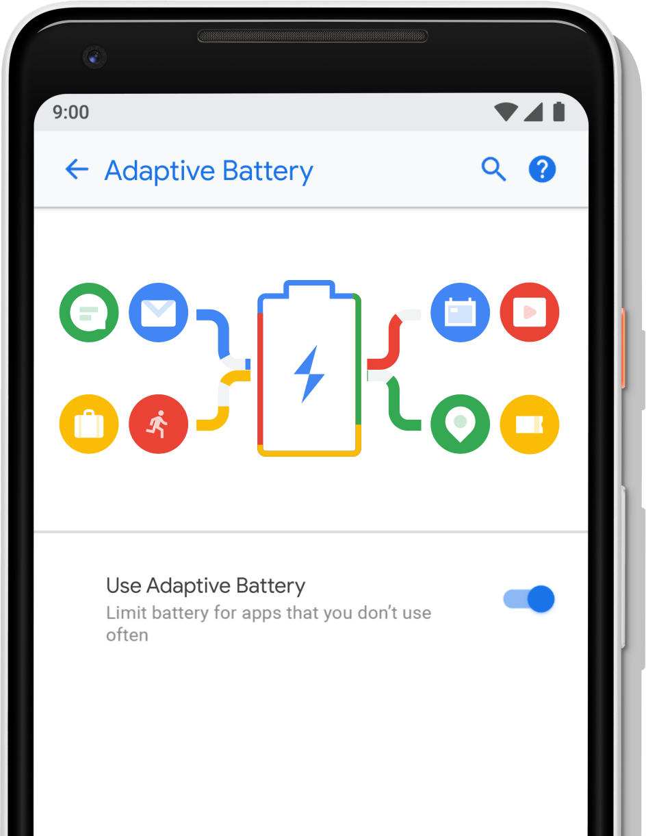 Adaptive battery in Settings