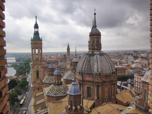 Cúpulas de la Basilica del Pilar en Zaragoza