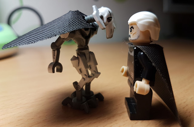 Count Dooku and general Grievous Clone Wars art Star Wars