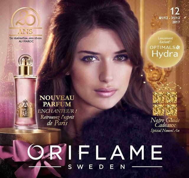 catalogue oriflame maroc decembre 2017