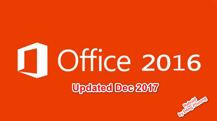 Office Professional Plus + Visio Pro + Project Pro 2016 Retail Updated Dec 2017 Rebuild