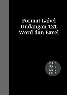 Format Label Undangan Excel : format, label, undangan, excel, Format, Label, Undangan, Excel