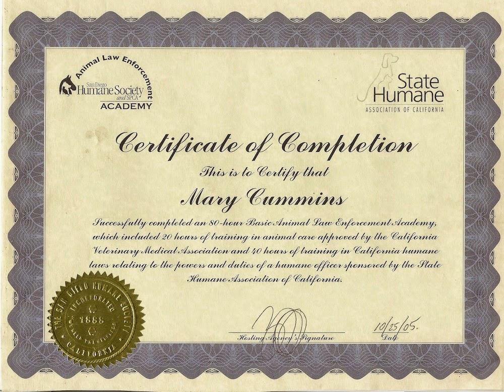 Mary Cummins Real Estate Appraiser Animal Advocates Los Angeles