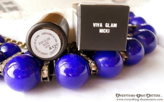 MAC+VivaGlamNicki+Lipstick