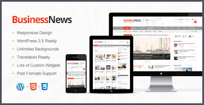 Business News WP Theme free Download