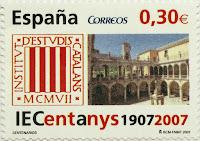 CENTENARIO DEL INSTITUT D´ESTUDIS CATALANS