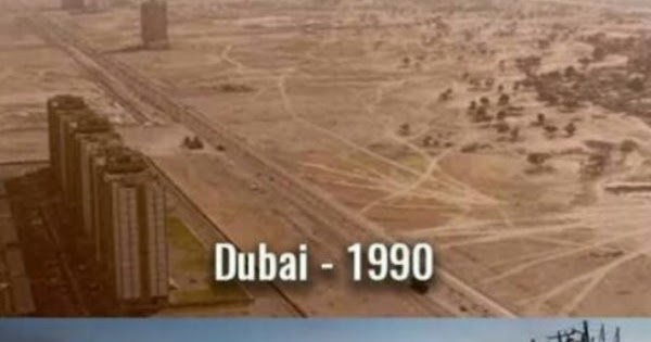 pictures  jokes  and other stuff  dubai 1990 vs  2017