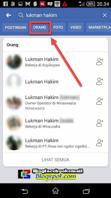 cara menemukan kawan lama di facebook